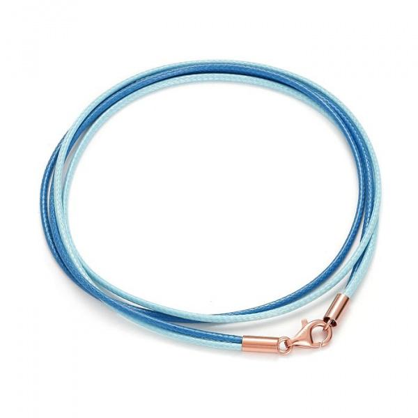 SCHIELE SPORT japoński sznurek LOUXION bransolety jasny ciemny niebieski różowe złocenie