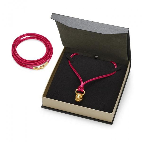 SCHIELE SPORT japoński sznurek LOUXION różowy złocony w pudełku