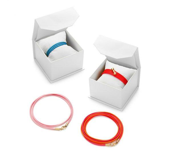Bransoletka z japońskiego sznurka Louxion personalizowana