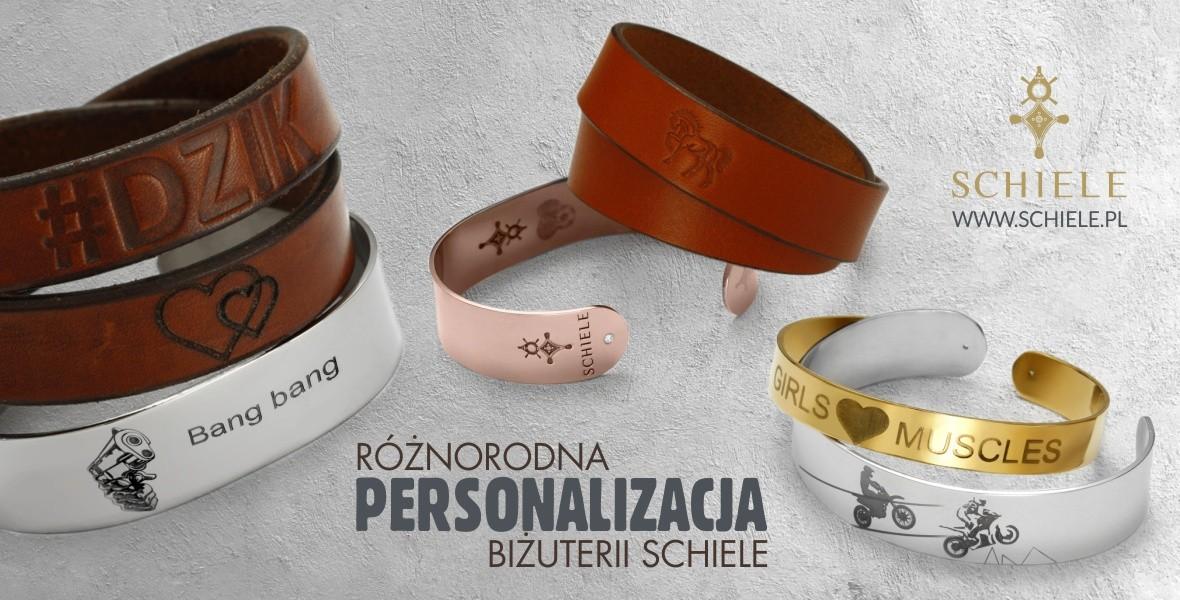 SCHIELE personalizacja biżuterii baner