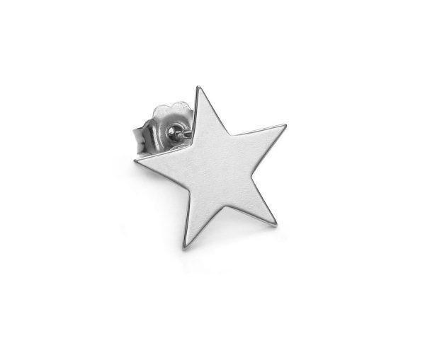 SCHIELE MIX mały kolczyk gwiazda rod