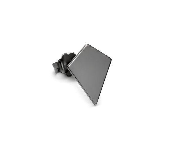 SCHIELE MIX mały kolczyk romb czarny ruten